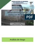 Vulnerabilidad y Riesgo Sismico en Nicaragua
