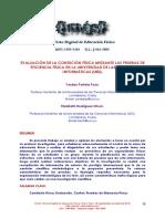 EvaluacionDeLaCondicionFisicaMedianteLasPruebasDeE