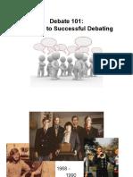 Forum 7 Debate101