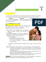 La Comunicacion en El Matrimonio - Libro 2 - 1ra Semana