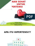 Menu Sehat Hipertensi
