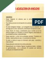 Acuicultura en Ayacucho