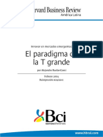 1.- El Paradigma de La T Grande - Harvard Business Review