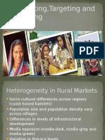 Rural Marketing- Unit 3 (Targeting, Segmenting and Positioning)