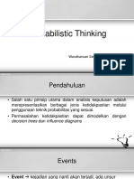 2. Probabilistic Thinking