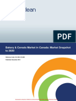 Bakery & Cereals Market in Canada- Market Snapshot to 2020