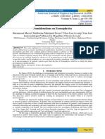 Considerations on Econophysics