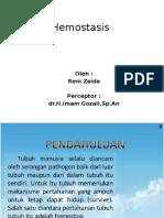 Reni Zaida Hemostasis