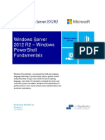 Windows Server 2012R2 - PowerShell