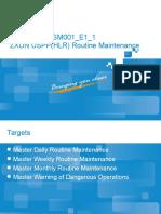 ZXUN USPP System Maintenance-Routine Maintenance201010-46