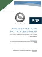 21 - Manual Desbloqueo de Equipos Con Boot Tick 0 Desde Internet