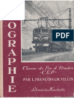 François, Villin, Géographie, Classe de Fin d'Études, CEP (1953)