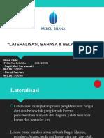 Lateralisasi, Bahasa Dan Belahan Otak