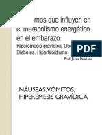 Hiperemesis, Diabetes, Hipertiroidismo