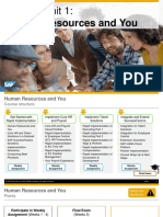 OpenSAP Sf3 Week 1 Unit 1 HR Presentation