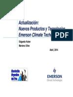Emerson Actualización Nuevos Productos y Tecnologías 2014