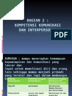 IV. Komunikasi Dan Interpersonal Skill