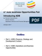 2 Plenary - Introducing ADB by RSubramaniam Rev 22Mar2017