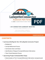 Handout for EC#7 - I-49 Connector Summary Briefing