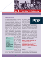 Bangladesh Economic Outlook VII N1 Sep 08