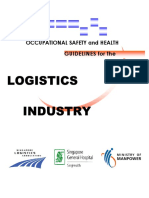 Occupational Safety and Health for the Logistics Industry