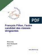 François Fillon, l'autre candidat des classes dirigeantes, mars 2017