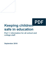 keeping children safe in education part 1