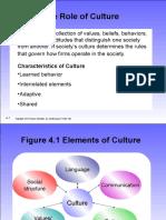Lecture Six Culture Handout