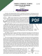 Conduit and Tubing Bending Guide