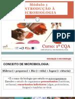 1 INTRODUÇÃO Microbiologia