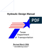DoT - Hydraulic Design Manual [DoT Texas 2004]