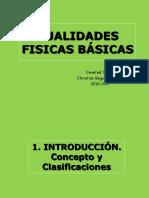 Cualidades Fisicas Basicas 2016