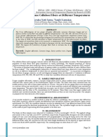 XRD Studies of Some Cellulose Fibers at Different Temperatures