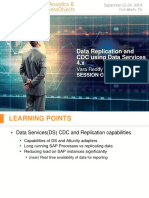 0203 Data Replication and CDC Using Data Services 4.x at Carefusion