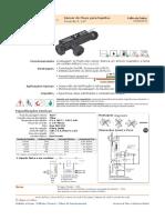 Catálogo Sensores de Fluxo