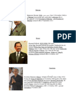 Asian Presidents Prime Ministers