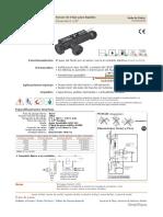 Catálogo Sensores de Flujo