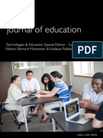 Iafor Education Journal Special Edition 2015