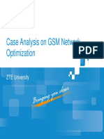 10 GSM Case Analysis on GSM Network Optimization