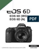 EOS 6D Instruction Manual ES