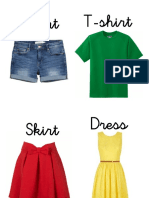 Flash Card Clothes