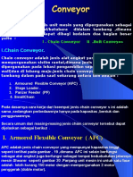 7b. Chain Conveyor