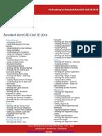 ISI Academy Outline Autodesk AutoCAD Civil 3D 2014