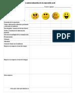 Ficha autoevaluación de expresión oral