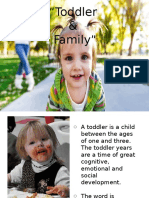 Toddler and Family