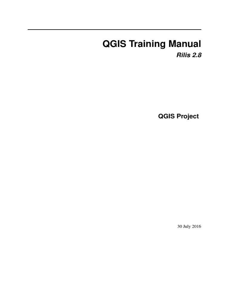 QGIS 2 8 QGISTrainingManual Id