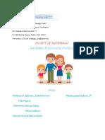 Parteneriat Cu Familia 2016-2017