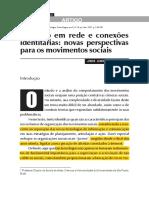 Ativismo-em-rede e Conexões Identitárias