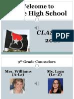 incoming 9th grade classroom presentation 2016- 17  1