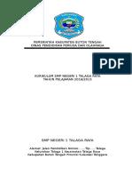 001-Dokumen 1 KTSP SMPN 1 Talaga Raya 2016-2017